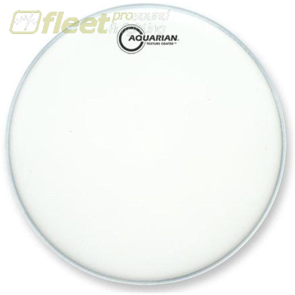 Aquarian Tc13 White Texture Coated 13 Batter Drumhead Drum Skins