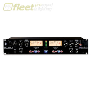 Art Pro Mpa-Ii Two Channel Mic Preamp Mic Preamps