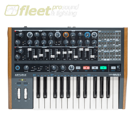 Arturia MINIBRUTE2 Slim Size Analog Synthesizer - Key Version KEYBOARDS & SYNTHESIZERS