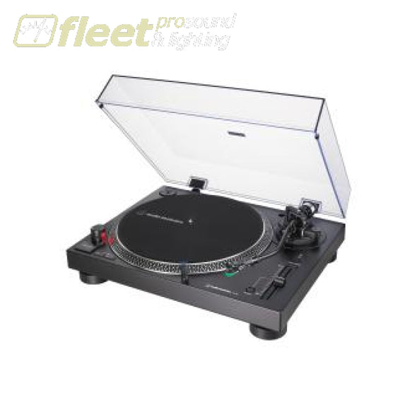 Audio Technica AT-LP120XUSB-BK Direct-Drive Turntable (Analog & USB) DIRECT DRIVE TURNTABLES