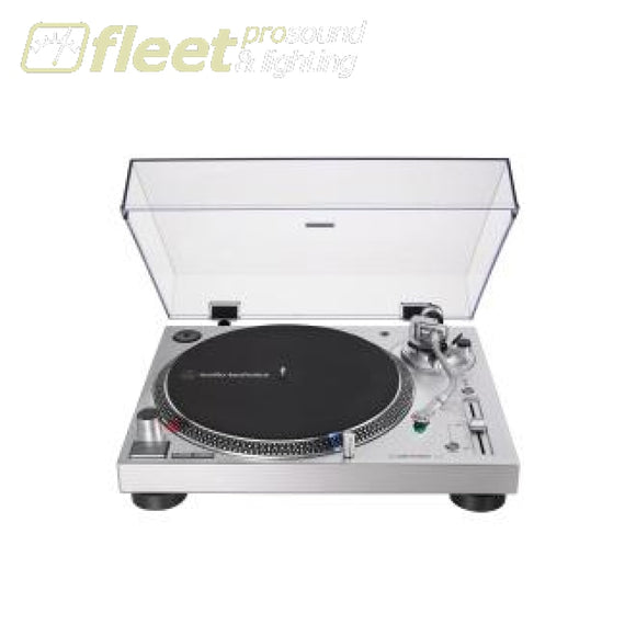 Audio Technica AT-LP120XUSB-SV Direct-Drive Turntable (Analog & USB) DIRECT DRIVE TURNTABLES