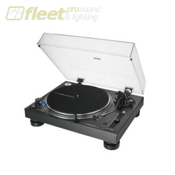 Audio Technica AT-LP140XP-BK Direct-Drive Professional DJ Turntable DIRECT DRIVE TURNTABLES