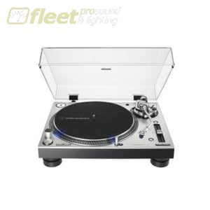 Audio Technica AT-LP140XP-SV Direct-Drive Professional DJ Turntable DIRECT DRIVE TURNTABLES