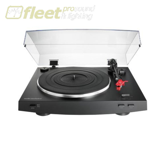 Audio Technica At-Lp3Bk Fully Automatic Belt-Drive Stereo Turntable Belt Drive Turntables