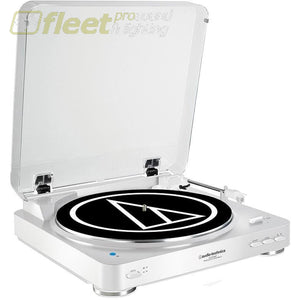 Audio Technica At-Lp60Wh-Bt Fully Automatic Wireless Belt-Drive Stereo Turntable Belt Drive Turntables