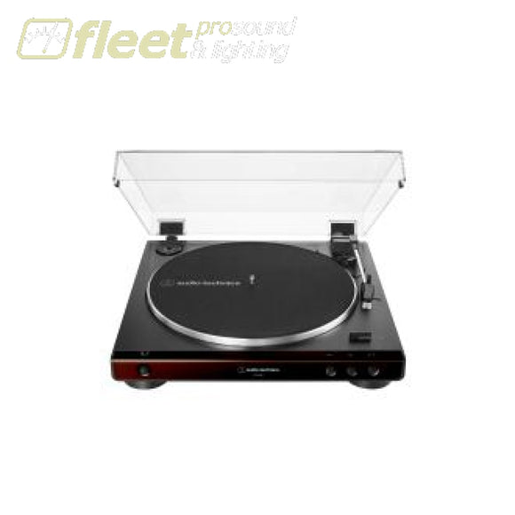 Audio Technica AT-LP60X-BN Fully Automatic Belt-Drive Turntable BELT DRIVE TURNTABLES