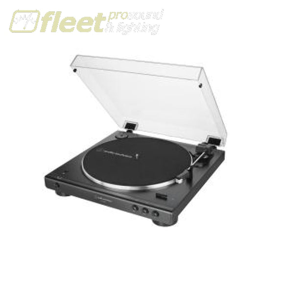 Audio Technica AT-LP60XBT-BK Fully Automatic Wireless Belt-Drive Turntable BELT DRIVE TURNTABLES
