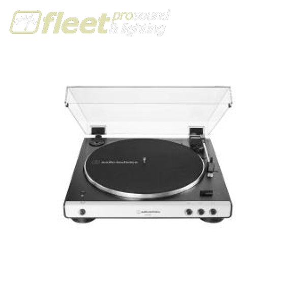 Audio Technica AT-LP60XBT-WH Fully Automatic Wireless Belt-Drive Turntable BELT DRIVE TURNTABLES