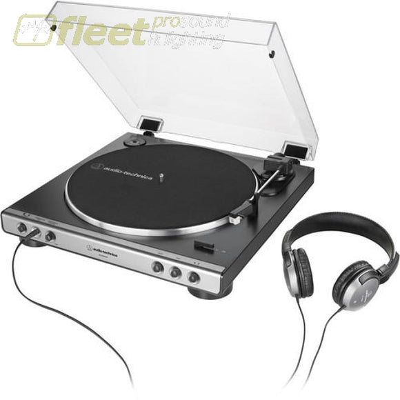 Audio Technica AT-LP60XHP-GM Stereo Turntable with Headphones BELT DRIVE TURNTABLES