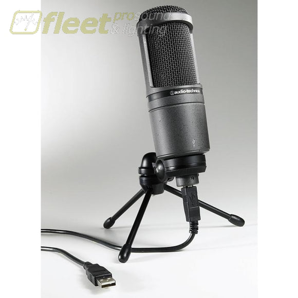 Audio Technica At2020Usb Usb Condensor Microphone Usb Mics