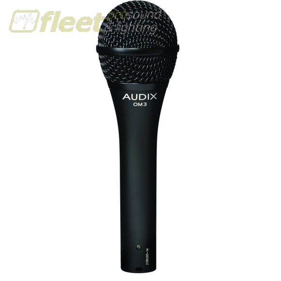 Audix Om3 Dynamic Vocal Microphone Vocal Mics
