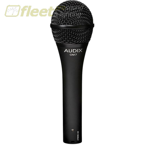 Audix Om7 Dynamic Vocal Microphone Vocal Mics