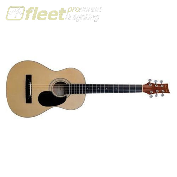 Beaver Creek BCTD401 1/2 Dreadnought Acoustic Guitar - Natural 6 STRING ACOUSTIC WITHOUT ELECTRONICS