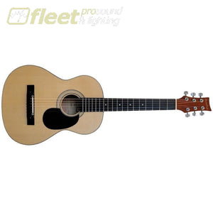 Beaver Creek Bctd601 3/4 Acoustic Guitar - Natural 6 String Acoustic Without Electronics