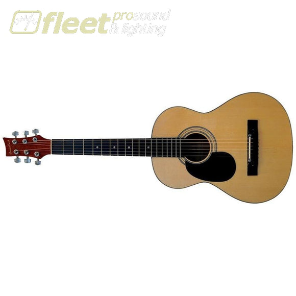 Beaver Creek Bctd601L 3/4 Size Lefty Acoustic Guitar - Natural Left Handed Acoustics