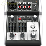 Behringer 302USB Premium 5-input mixer with xenyx MIXERS UNDER 24 CHANNEL