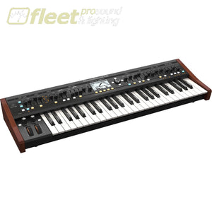 Behringer Deepmind 12 - True Analog 12-Voice Polyphonic Synthesizer With Tablet Remote And Wi-Fi Keyboards & Synthesizers