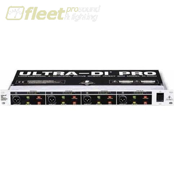 Behringer Di4000 Active Direct Box Di Boxes