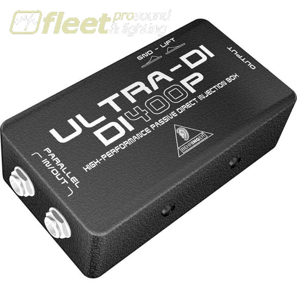 Behringer Di400P Ultra-Di Passive Direct Injection Box Di Boxes