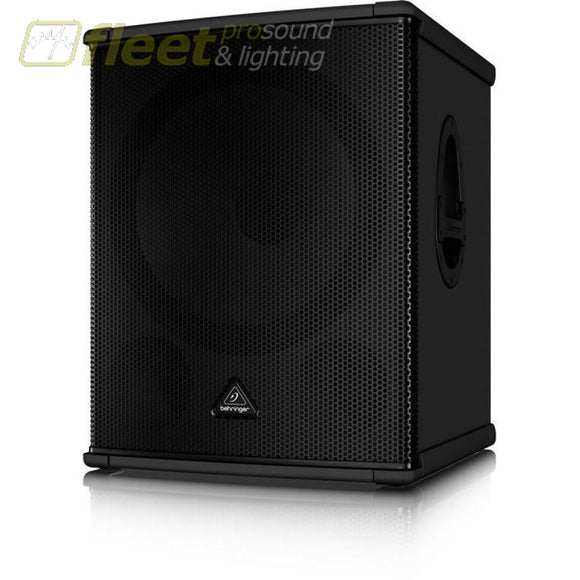 Behringer Eurolive B1800Hp High-Performance Active 2200-Watt Pa Subwoofer With 18 Turbosound Speaker And Built-In Stereo Crossover Powered