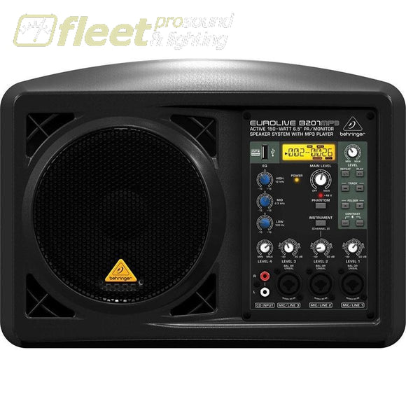 Behringer Eurolive B207MP3 FULL RANGE POWERED SPEAKERS