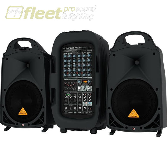 Behringer Europort PPA2000BT PORTABLE SOUND SYSTEMS