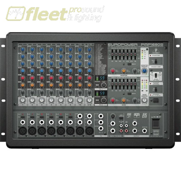 Behringer Europower Pmp1680S 1600-Watt 10-Channel Powered Mixer Powered Mixers