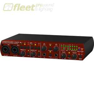 Behringer Fca610 Firewire Usb Audio Midi Interface With Midas Preampl Firewire Interfaces