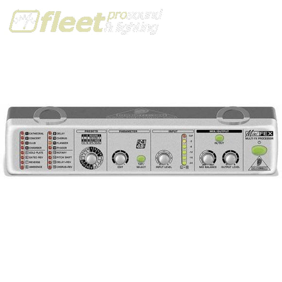Behringer Minifex Fex800 EFFECTS PROCESSORS