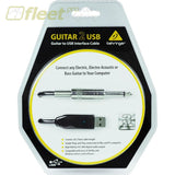 Behringer Guitar2Usb - 1/4 Instrument To Usb Type-A Cable Usb Audio Interfaces