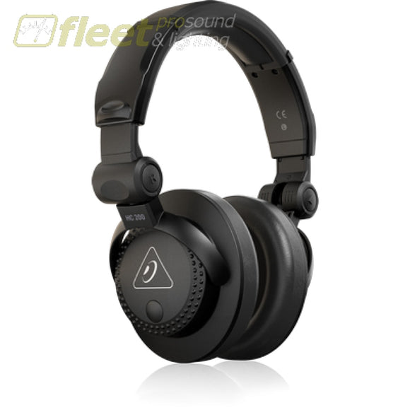 Behringer HC 200 High-Quality Professional DJ Headphones DJ HEADPHONES