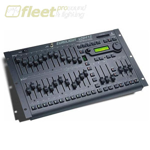 Behringer Lc2412 Dmx Lighting 24-Channel Dmx Lighting Console With 24 Preset Channels Assignable To 512 Dmx Channels Light Boards