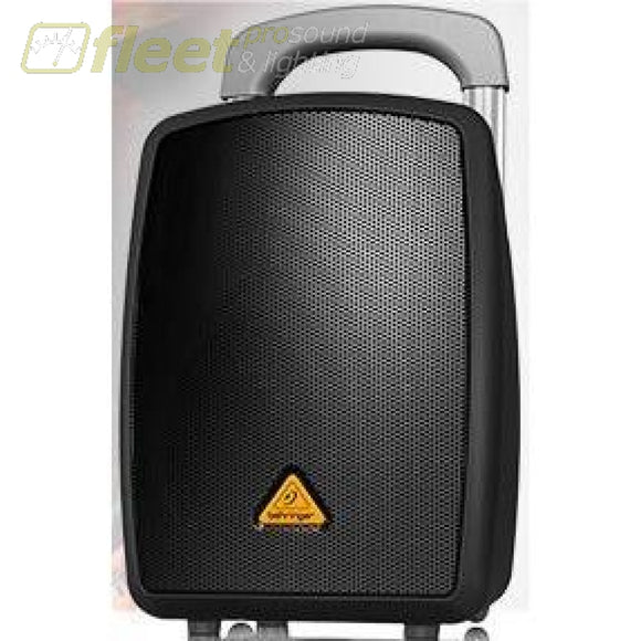 Behringer MPA40BT-PRO Battery Operated Portable PA System w/ Bluetooth and Dolly BATTERY OPERATED SPEAKERS
