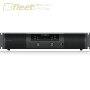 Behringer Nx3000 Power Amplifier Amplifiers-Professional