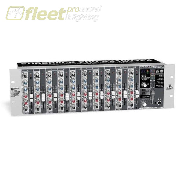 Behringer Rx1202Fx 12 Input Mic/line Mixer Mixers Under 24 Channel