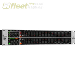 Behringer Ultragraph-Pro Fbq3102Hd Dual Channel 31-Band Graphic Eq Equalizers