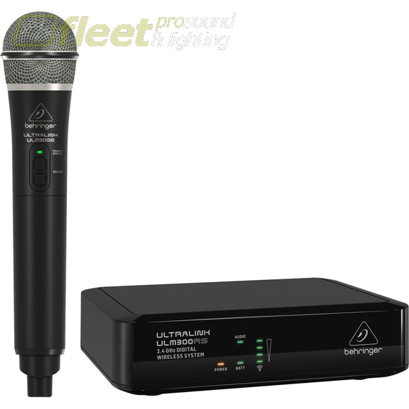 Behringer ULTRALINK ULM300MIC 2.4 GHz Wireless Microphone System HAND HELD WIRELESS SYSTEMS