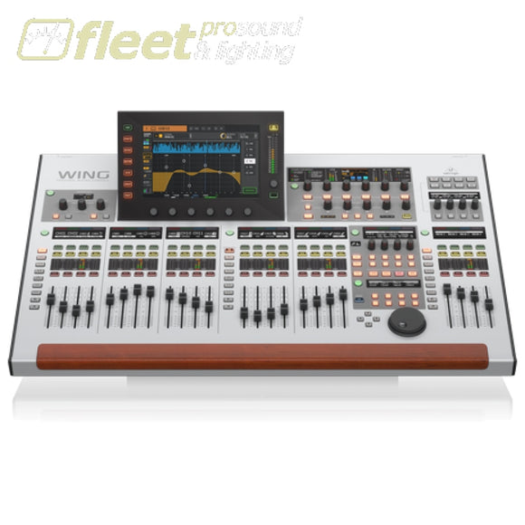 Behringer WING 48-Channel 28-Bus Full Stereo Digital Mixing Console w/ 24-Fader Control Surface & 10 Touch Screen DIGITAL MIXERS