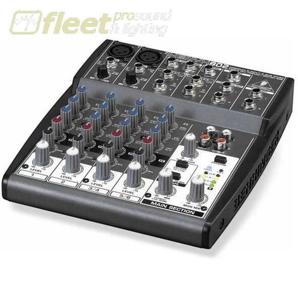 Behringer Xenyx 802 Mixer MIXERS UNDER 24 CHANNEL