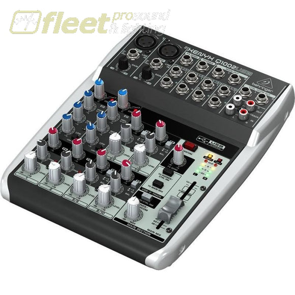 Behringer Xenyx Q1002Usb Mixer Mixers Under 24 Channel