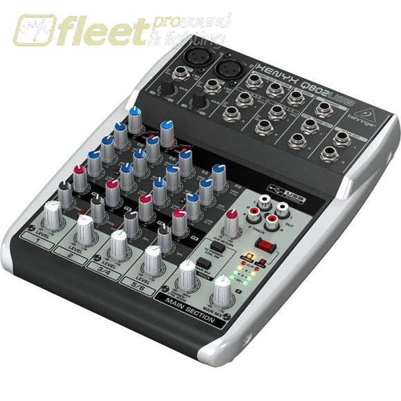Behringer Xenyx Q802Usb Mixer Mixers Under 24 Channel