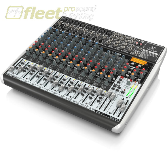 Behringer XENYX QX2222USB Mixing Console MIXERS UNDER 24 CHANNEL