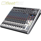Behringer Xenyx X2222USB Premium 22-Input 2/2-Bus Mixer 24-Bit Multi-FX Processor MIXERS UNDER 24 CHANNEL