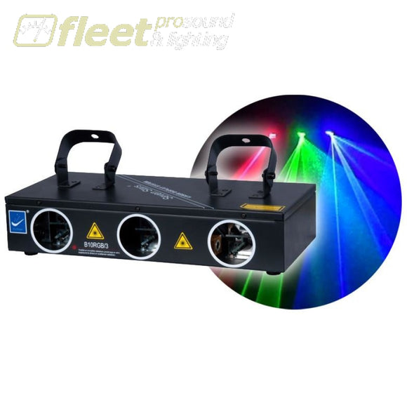 Big Dipper B10RGB-3 Multi Head RGB Laser Effect LASERS
