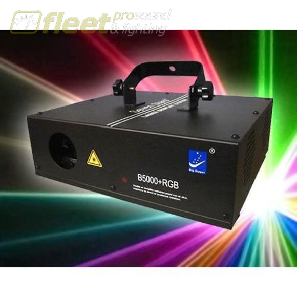 Big Dipper B5000+ Rgb Laser With Control Sound And Auto-Play With 12 Channels Lasers