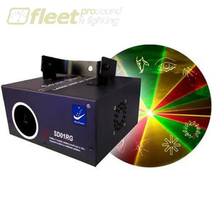 Big Dipper Sd01Rg Red/green/yellow Laser W/ Sd Card For Custom Patterns Lasers