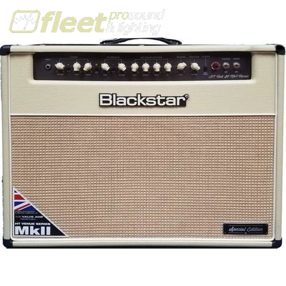 Blackstar CLUB40CCLBL 1x12 40-Watt Guitar Amp - Exclusive Cream GUITAR COMBO AMPS
