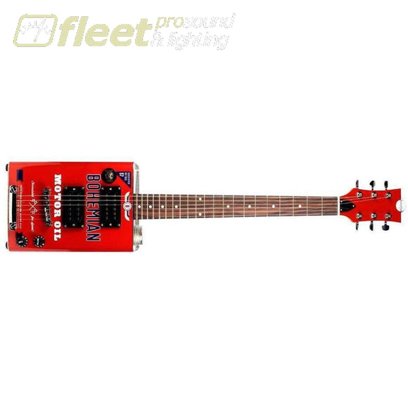Bohemian Bg-15-Mo-2 Boho Electric Guitar Motor Oil Hollow Body Guitars