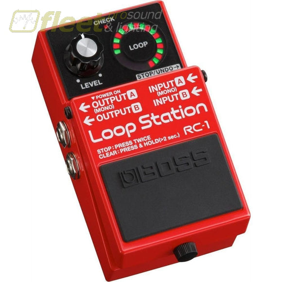 Boss Rc-1 Loop Station Effect Pedal Guitar Looper Pedals