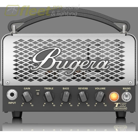 Bugera T5 Infinium 5-Watt Cage-Style Tube Amplifier Head Guitar Amp Heads